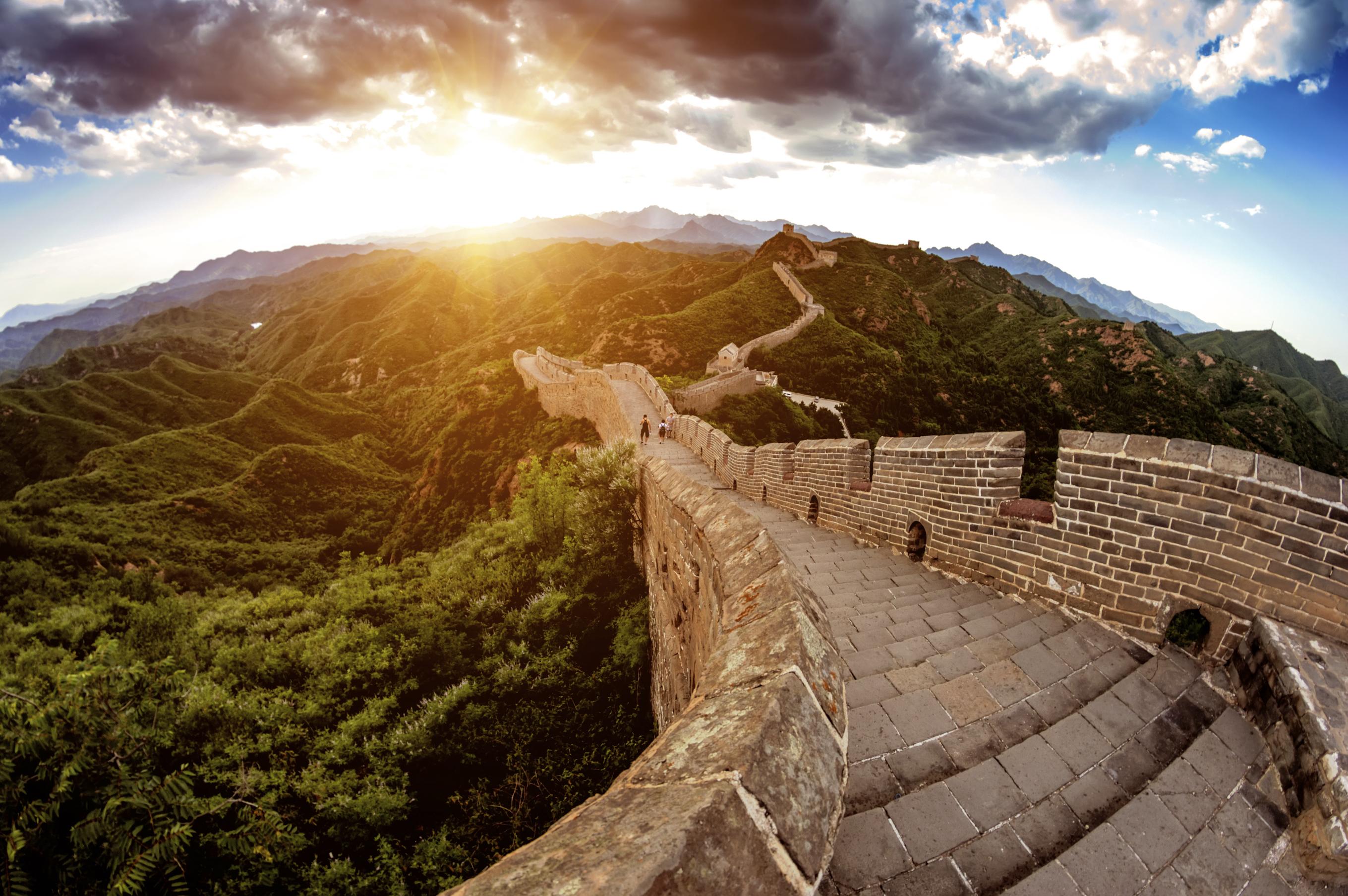 China great wall of Jingshanling,beijing